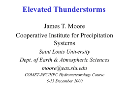 Elevated Thunderstorms