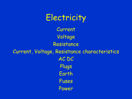 Electricity - science
