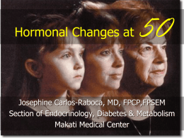 Hormonal Changes at 50