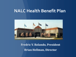 NALC Health Benefit Plan