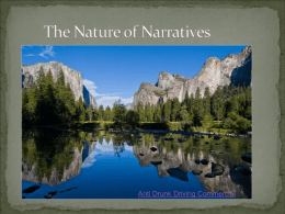 What is a Narrative? - Deptford Township Schools