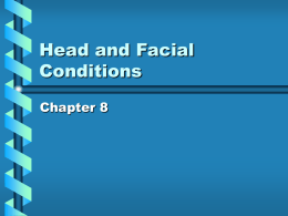 Head and Facial Conditions - College of the Siskiyous | Home