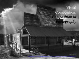 Visual Composition: Composition in Photography
