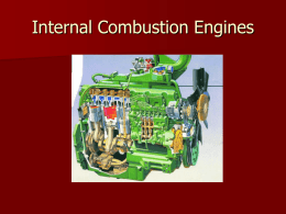 Internal Combustion Engines - IQSoft Software Consultants