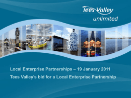 Tees Valley City Region: A Business Case for Delivery