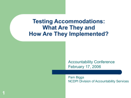 Testing Accommodations: What Are They And How Are They