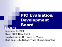 PIC Evaluation/ Development Board