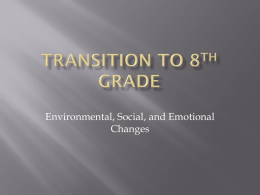 Transition to 8th Grade - Charlotte