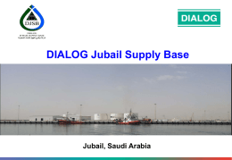 Jubail Supply Base