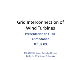 Technical Issues related to Grid Interconnection of Wind