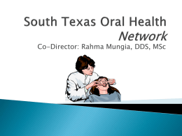 south Texas oral health network