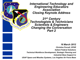 AFSPC Briefing Template