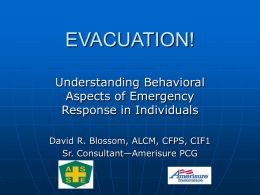 EVACUATION! - American Society of Safety Engineers