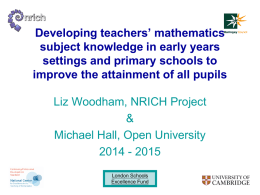 Engaging Mathematics For All Learners