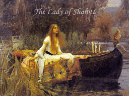 The Lady of Shalott - Home