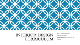 Interior Design Curriculum - Minnesota State University