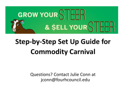 Step by Step Guide - 4-H