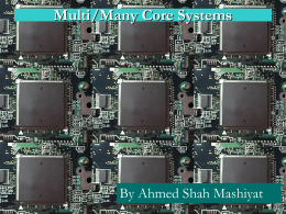 Multi/Many Core Systems