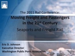 Moving Freight and Passengers in the 21st Century