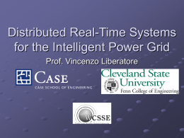 Distributed Real-Time Systems for the Intelligent Power Grid