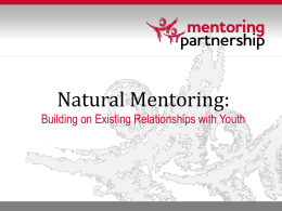 Natural Mentor Training - United Way of Allegheny County