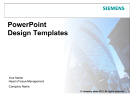 PowerPoint Design Templates
