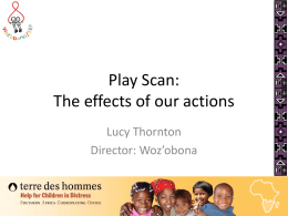Play Scan: The effects of our actions