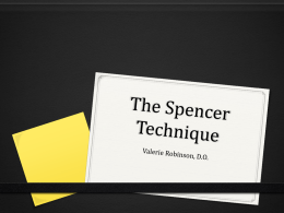 The Spencer Technique