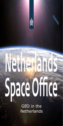 Rijksoverheid presentatie - Netherlands Space Office