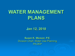 water management - files.dep.state.pa.us