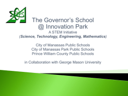 The Governor's School @ Innovation Park
