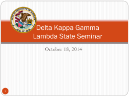 LICENSE RENEWAL - Delta Kappa Gamma Society