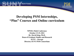 SUNY Learning Network (SLN)