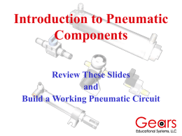 Intro to Pneumatic Components