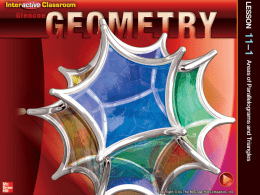 Glencoe Geometry - Burlington County Institute of Technology