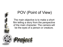 POV (Point of View) - Career Center Construction Technology