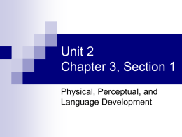 Unit 2 Chapter 3, Section 1