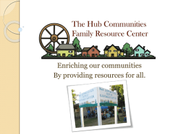The Hub Communities Family Resource Center
