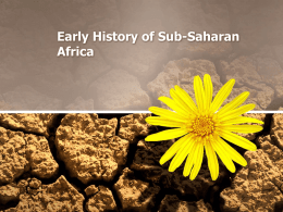 Early History of Sub