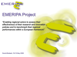 EMERIPA Project - Assembly of European Regions