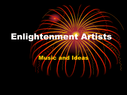 Enlightenment Artists