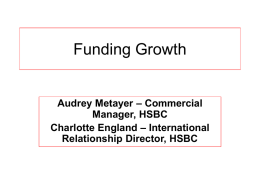 Funding Growth