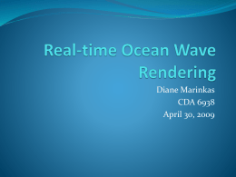 Real-time Ocean Wave Rendering