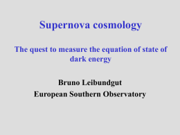 Supernovae and the accelerated universe