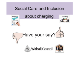 Have your say? - Walsall Council