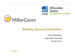 MillerCoors PowerPoint 2007 Template