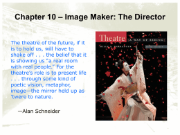 Image Maker: The Director - Louisiana Tech University