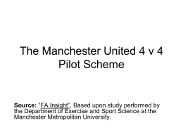 Manchester United Pilot Study on Small