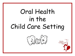 Oral Health - The Ohio Child Care Resource and Referral