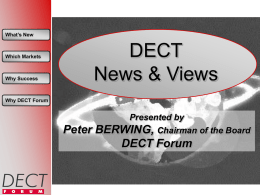 DECT News and Views